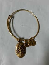 Gold Alex And Ani Bangle Bracelet Rafaelian Seven Swords Nwot - $23.33