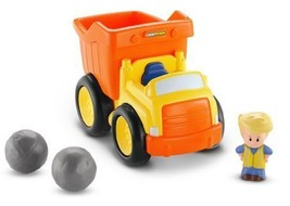 Fisher Price Little People Dump Truck - BDY81 - New image 1