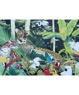 Jorge Fernandini - Cheetah Jungle - Watercolor Art South Beach, Miami Fl... - $280.49