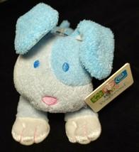 "NWT 9"" Plush Kids Preferred Blue Puppy Dog Rattle Toy Thank Heaven 2004 ... - $19.16"