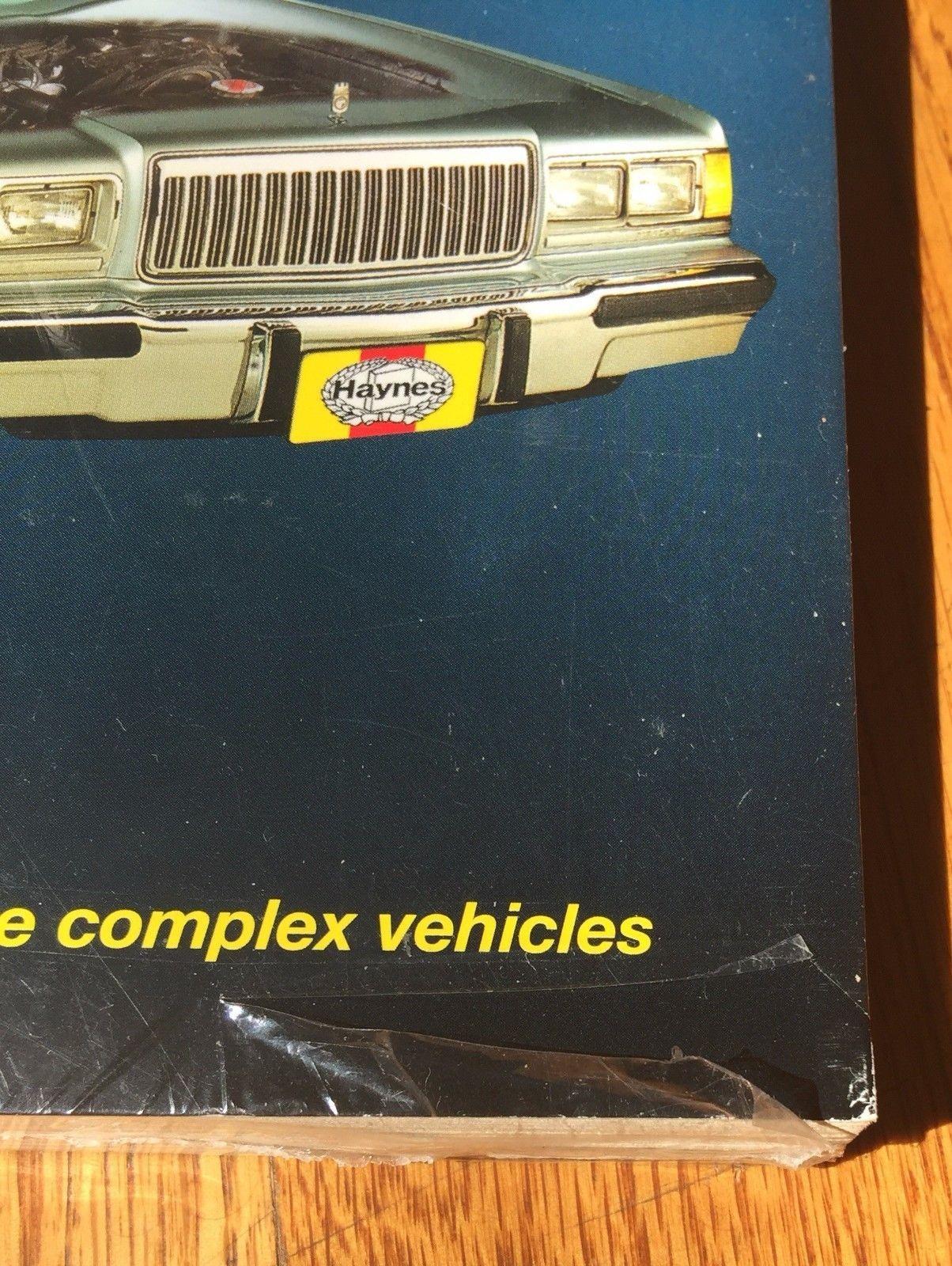 Ford & Mercury 1973-1986 Full Size Models Haynes Repair Manual Book 36036