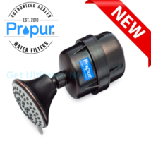 Propur ProMax Antique Bronze Shower filter w/massage head - $89.95