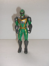 "Power Rangers Mystic Force Green Ranger 5.5"" Action Figure Bandai 2005 - $9.90"