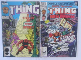 Set of 2 Marvel The Thing Comics (100,15) - $2.99