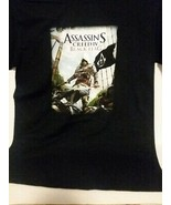 ASSASSINS CREED IV: BLACK FLAG T-SHIRT - FREE SHIPPING - $14.03