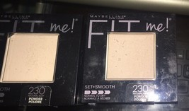 2 Maybelline New York Fit Me! Set + Smooth Powder - 230 Natural Buff, 0.3 ounce - $9.89