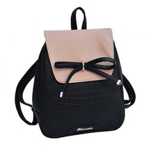 New Leather Backpack Backpacks For Teenage Girls Women Backpack School B... - €14,84 EUR