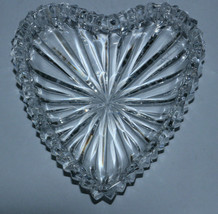 Roy Cunningham Signed Waterford Heart Trinket Dish- 3.5 x 3.5 inches - $29.71
