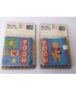 X2 Packs of Disney Winnie the Pooh 5' x 15' Wallpaper Border Stick-Ups - $27.99