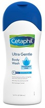 Cetaphil Ultra Gentle Body Wash, Fragrance Free, 16.9 Ounce Pack of 3 - $27.23