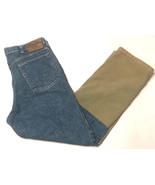 Wrangler Women's Jeans 36 X 30 Straight Leg Two-toned Denim #B2 - $21.99