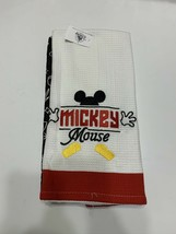 Mickey Mouse Disney Parks Magic Kingdom Official Hand Kitchen Towel Set New - $17.75