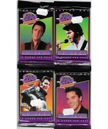 The Elvis Collection 1992 Trading Cards 4 SEALED UNOPENED 12 Card Packs - $3.99