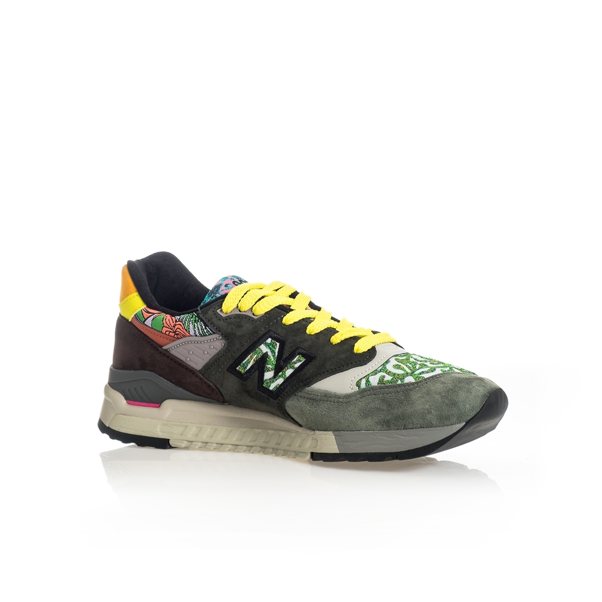 SNEAKERS UOMO NEW BALANCE LIFESTYLE 998 M998AWK MADE IN USA GREEN image 3
