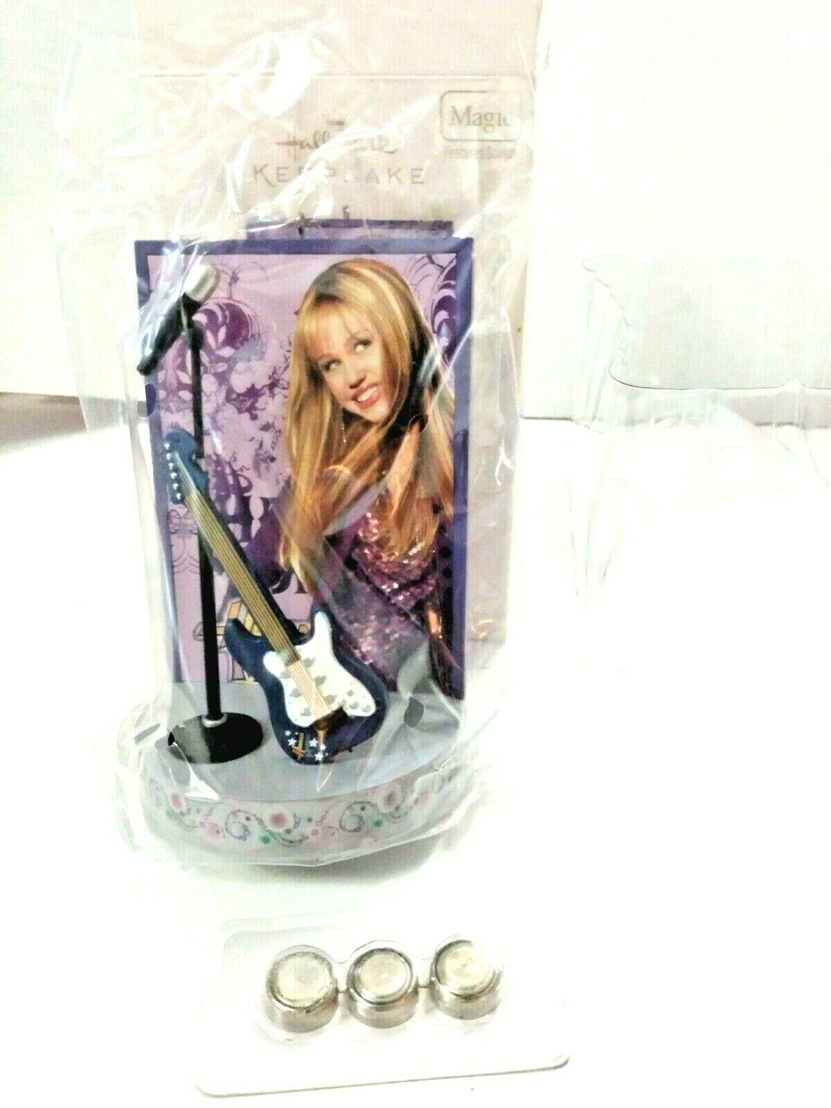 Primary image for HANNAH MONTANA HALLMARK ORNAMENT: NIB 2006 (W/SOUND) Batteries Included