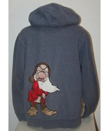 "DISNEY GRUMPY Small Sweat Jacket Coat Hoodie Zip Up Chest: 44"" Sweatshir... - $21.15"