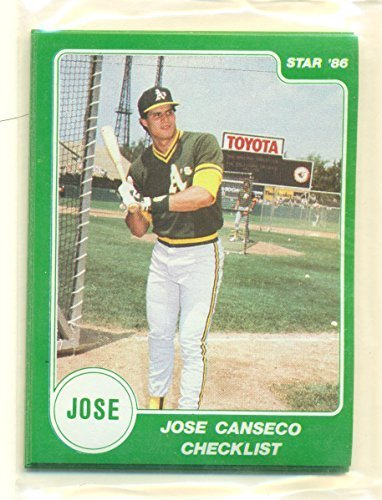 1986 Star Jose Canseco Green Factory Sealed Rookie Set 15 Cards - Oakland A's -