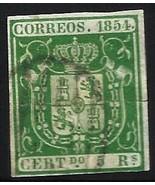 Spain 1854 Scott# 29 Used - $63.00