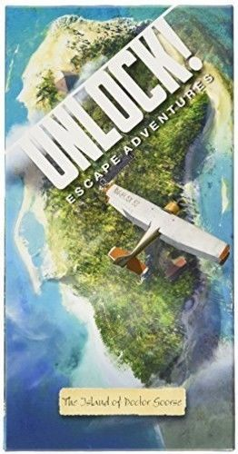 UNLOCK! The Island of Doctor Goorse [New Games] Board Game