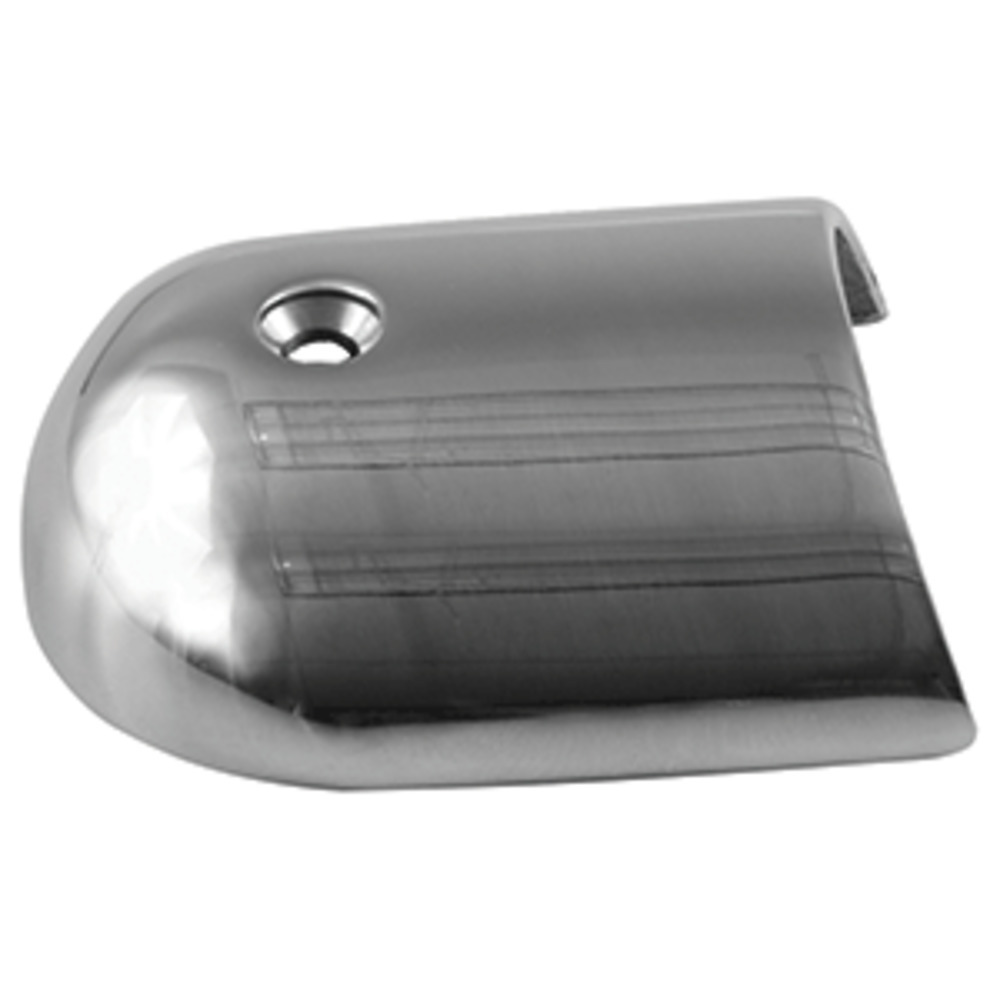 "Primary image for TACO Rub Rail End Cap - 1-7/8"" - Stainless Steel"