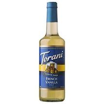 Torani Sugar Free French Vanilla Syrup, 25.35 Oz - $25.26