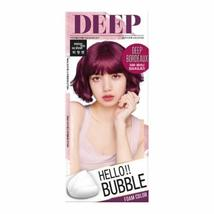 Easy Hair Coloring, mise en scene Hello Bubble Foam Color Wine Red [5BR Deep Ros