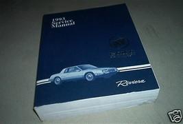 1993 Buick Riviera Service Repair Shop Manual Factory Oem Book Gm 93 Dealership - $10.88