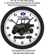 2021 Polaris Ranger 500 Wall Clock-Free US Ship - $27.71+