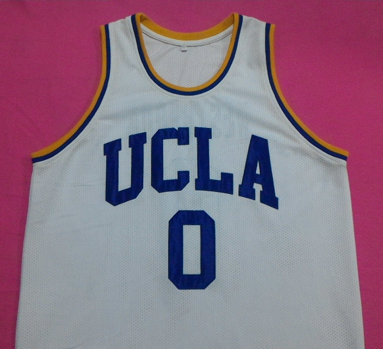 b84c292db P 20160425 183417. P 20160425 183417. Previous. RUSSELL WESTBROOK UCLA  Bruins White College Basketball Jersey Any ...