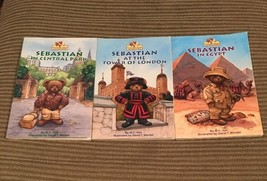 Suitcase Bear Adventures Books 1-3 (Sebastian) - $14.80