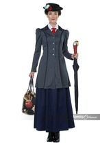 California Costumes English Nanny Mary Poppins Adult Halloween Costume 0... - $41.99