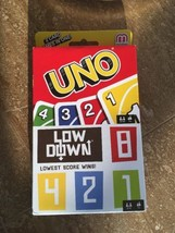 Uno and Low Down card game 2 games in one package - $15.00