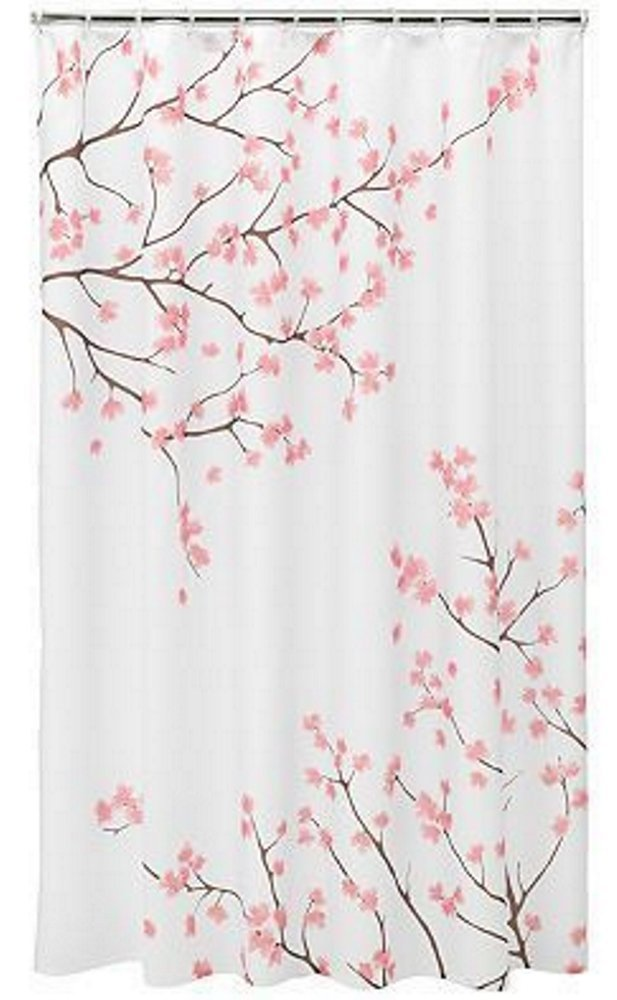 Primary image for CHARMHOME 2017 Hot Sale Custom Cherry Blossom Shower Curtain Waterproof Fabric B