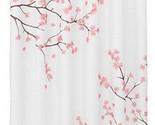 E custom cherry blossom shower curtain waterproof fabric bath curtain for bathroom thumb155 crop