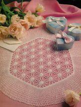 5X PANACHE FLORAL FLOURISH ACANTHUS Crochet DOI... - $5.99