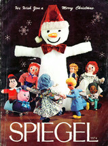 SPIEGEL  1974 CHRISTMAS BOOK Catalog  SPIEGELS  Holiday Wish & GIfts WIS... - $43.56