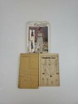 Vintage 1980s Simplicity 6892 Jumpsuit Romper Dress Pattern Size 12 14 1... - $9.99
