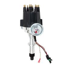 Pro Series R2R Distributor for Pontiac SB BB, V8 Engine Black Cap