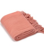 Battilo Home Cable Knit Woven Luxury Throw Blanket with Tasseled Ends 50... - £34.72 GBP