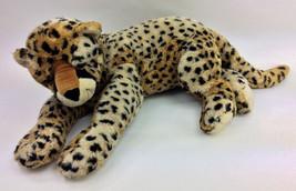 "Ty 2004 Leopard Cheetah Large Plush Stuffed Animal 26"" - $94.67"