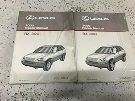 2000 Lexus RX300 RX 300 Service Shop Repair Workshop Manual Set Worn OEM - $128.65