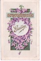 Greetings Vintage Embossed Postcard Mystic, Ky 1914 - $2.64