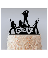 Wedding,Birthday Cake topper,Cupcake topper,silhouette Movies Grease : 1... - $20.00