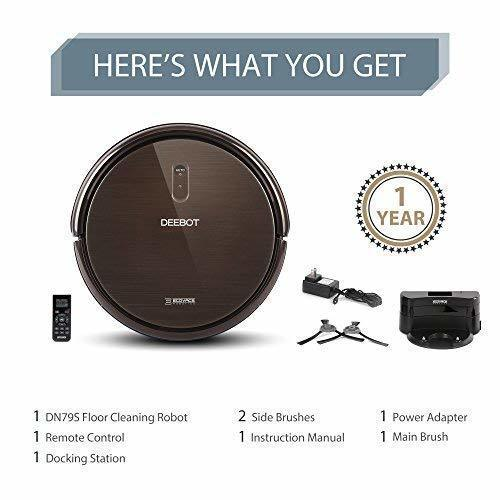 ECOVACS DEEBOT N79S Self-Charging Robot Vacuum Cleaner with Max Power Suction