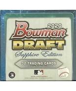 2020 Bowman Draft Baseball - SAPPHIRE EDITION Hobby Box - $212.80