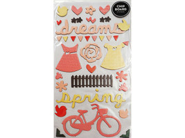 Thickers Dreams Icons Chipboard Shapes, Self-Adhesive image 1