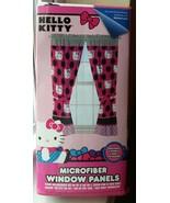 Hello Kitty Microfiber Window Panels Drapes - $17.10