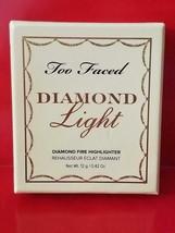 Too Faced DIAMOND LIGHT Canary Diamond Fire Highlighter - Authentic - $34.60