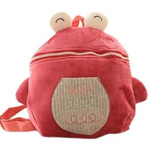 Infant Knapsack Baby Children Backpack Prevent from Getting Lost Light Red