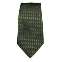 Alfani Men's Neck Tie Silk Made In Italy Green Blue 58L 4W - $10.26